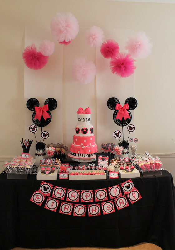 Zebra Minnie Mouse Birthday Party Supplies Popular Zebra 2017