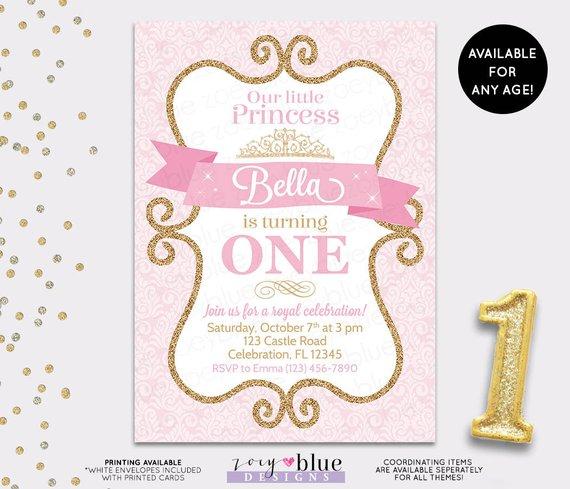 prettiest 14 princess party invitations
