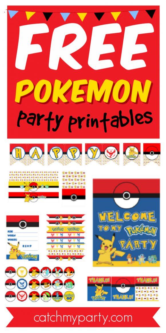 download these free pokemon printables