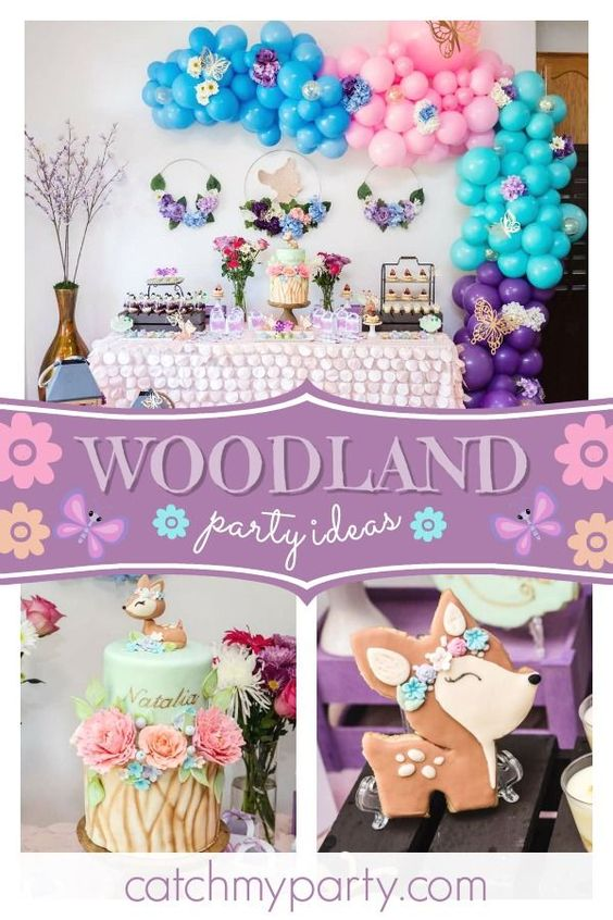 Fiesta de cumpleaños de Woodland