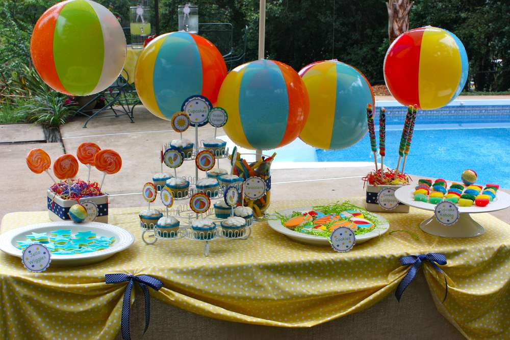 Pool Summer Party Ideas