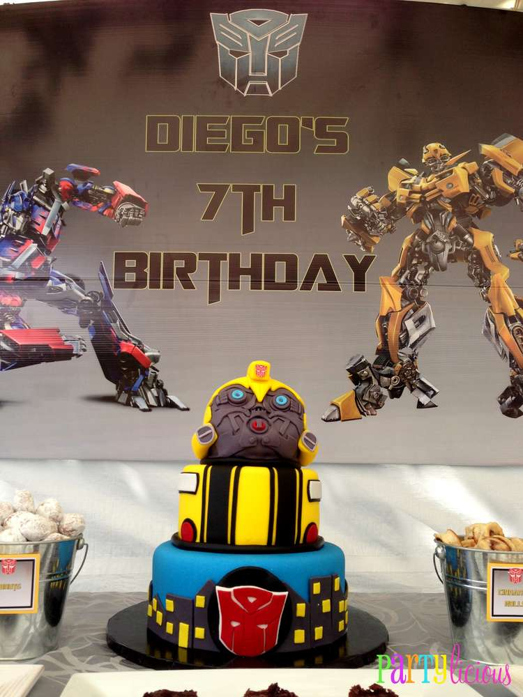 Transformers Birthday Party Ideas Photo 3 Of 19 Catch