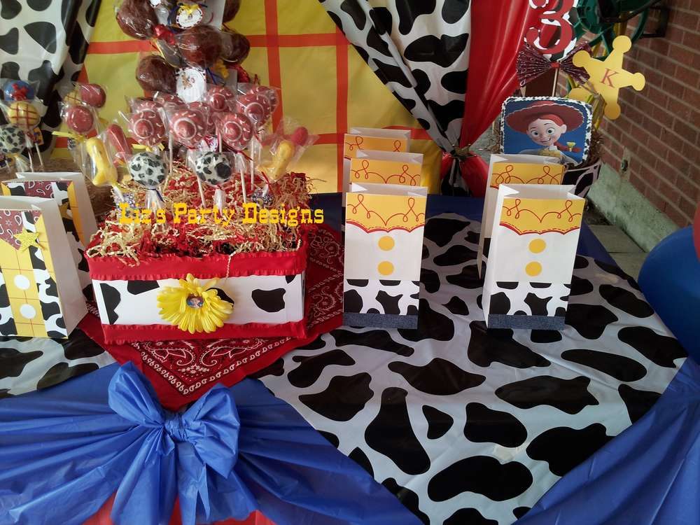 Toy Story Woody And Jessie Birthday Party Ideas Photo 7 Of 28 Catch My Party