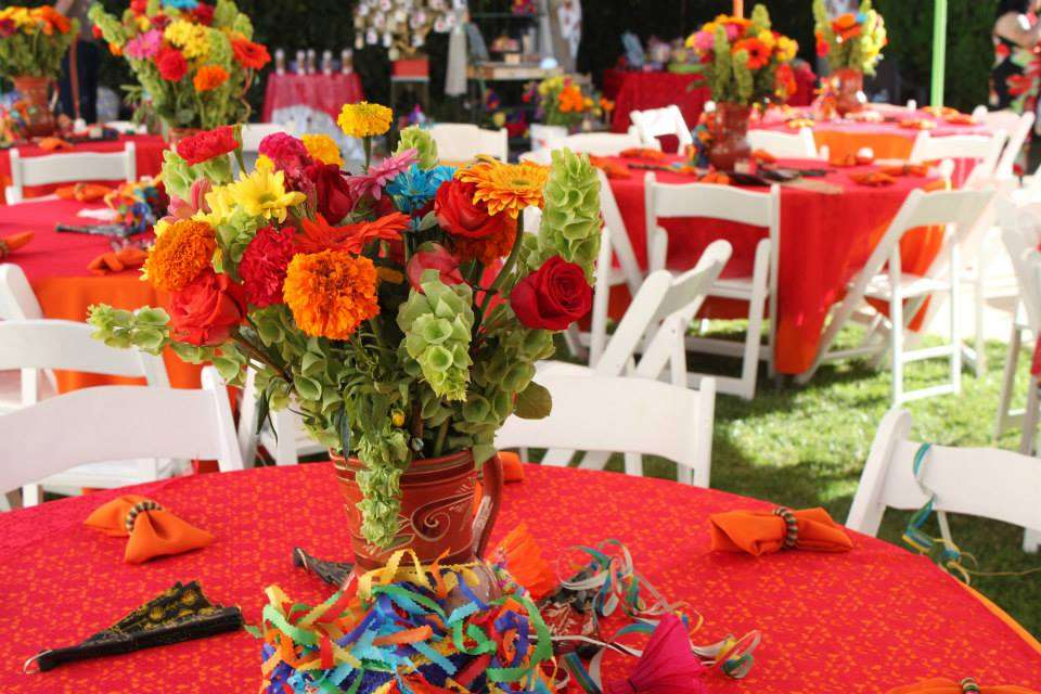 Mexican Fiesta BridalWedding Shower Party Ideas Photo 8