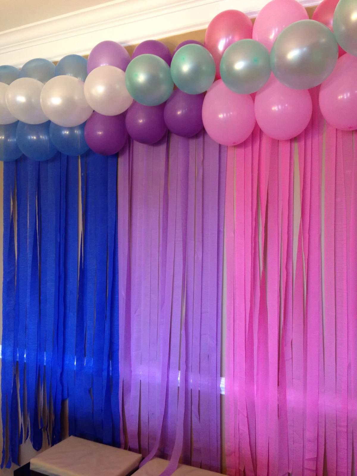 Mermaid Birthday Party Invitations Printable