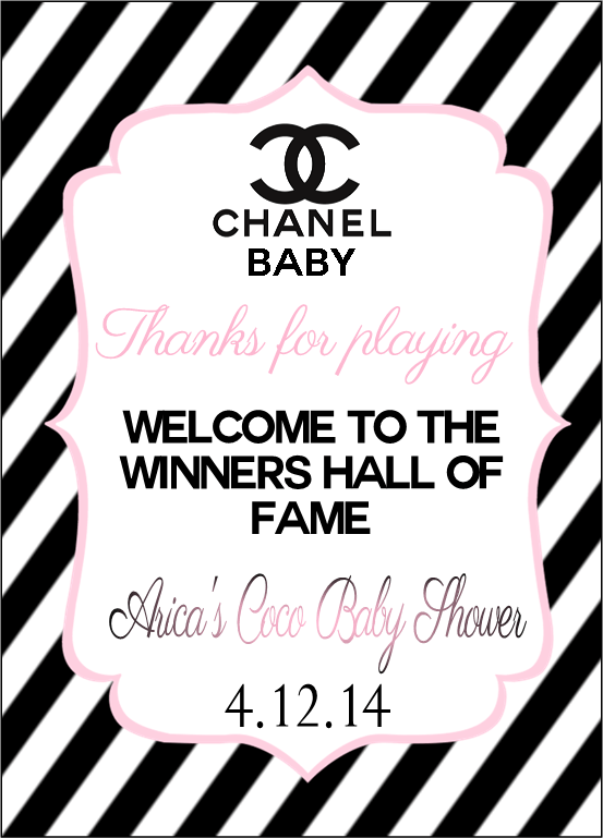 Coco Chanel Baby Shower Party Ideas Photo 1 Of 16