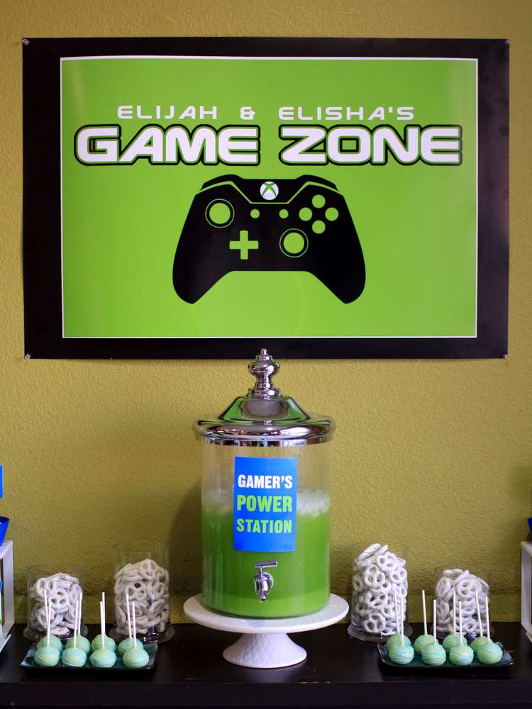 video games birthday party ideas
