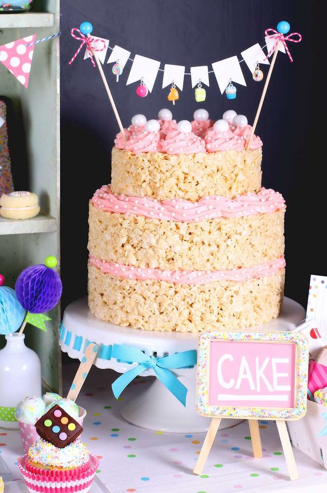 Sprinkles With Sweet Treats And Desserts Birthday Party