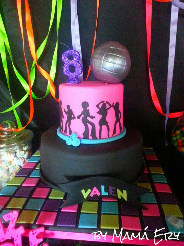 Just Dance Party Fluor Fest Birthday Party Ideas