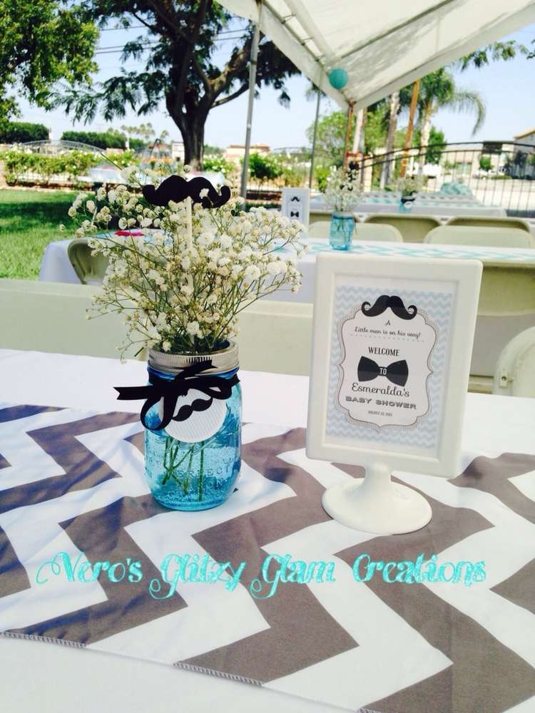 Little Man Baby Shower Party Ideas Photo 1 Of 34 Catch