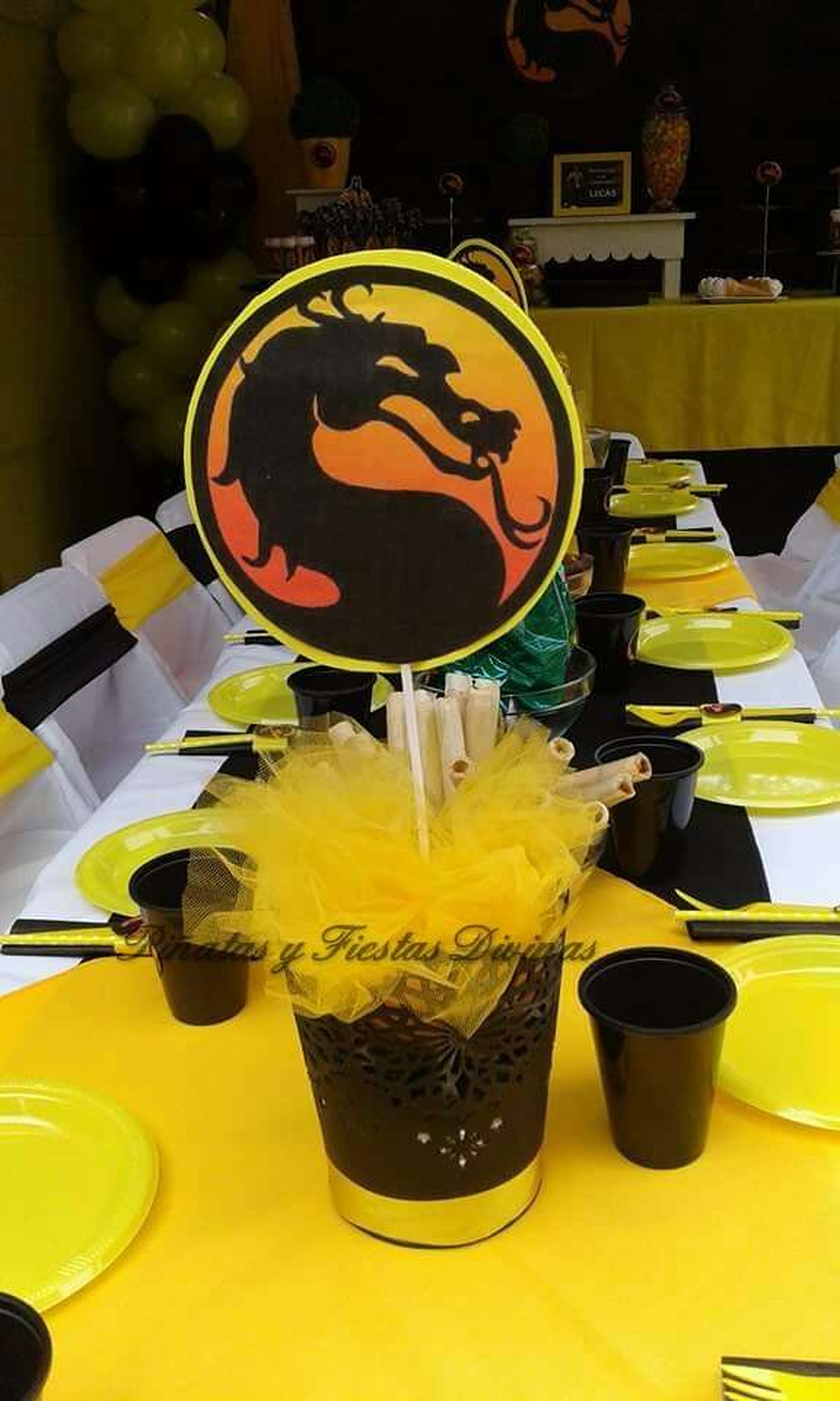 Mortal Kombat Birthday Party Ideas Photo 2 Of 13 Catch
