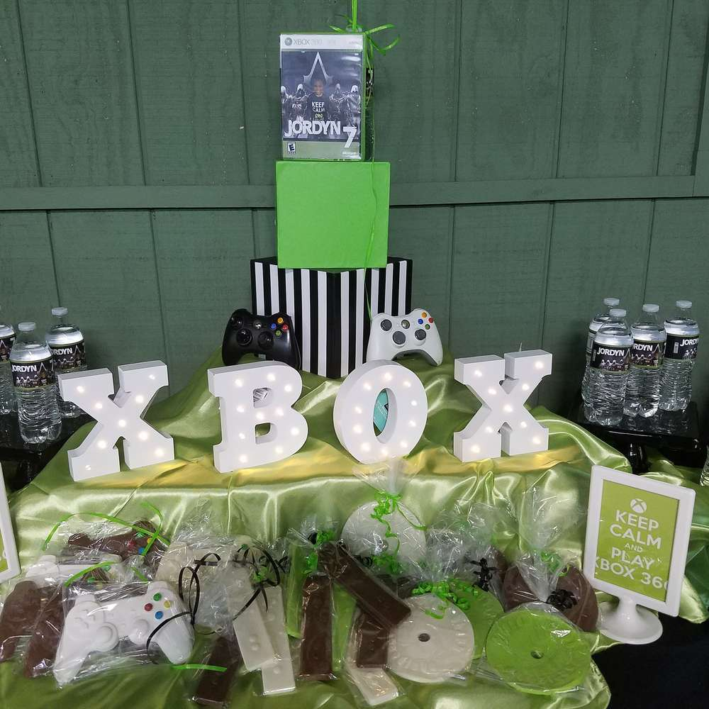 Video Games Birthday Party Ideas Photo 1 Of 20 Catch