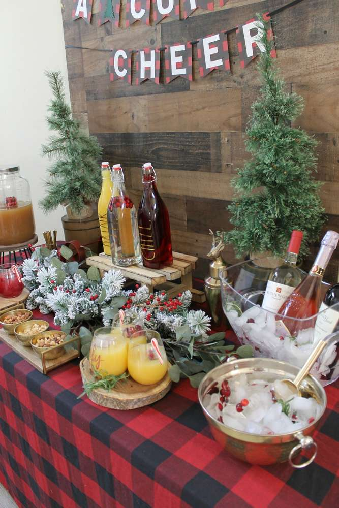 cheer christmas holiday party ideas