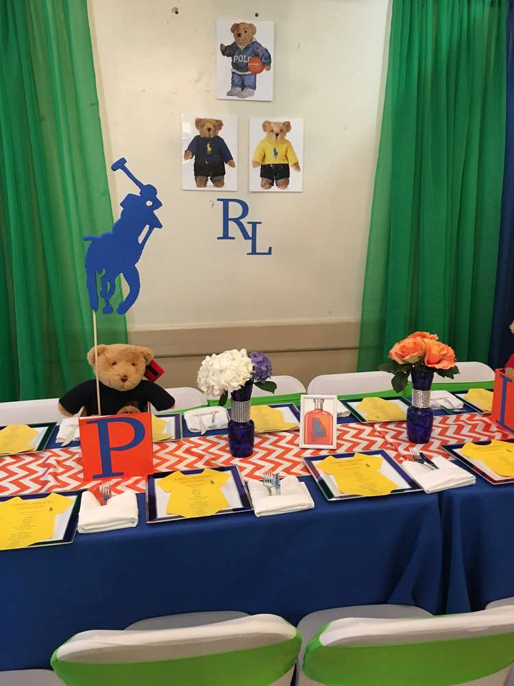 polo themed baby shower online