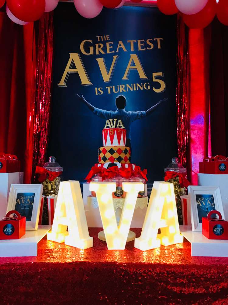 The Greatest Showman Party Birthday Party Ideas Photo 1