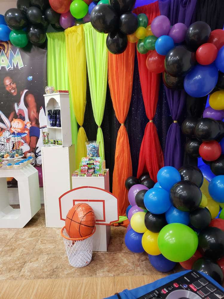 Space Jam Birthday Party Ideas Photo 1 Of 17 Catch My