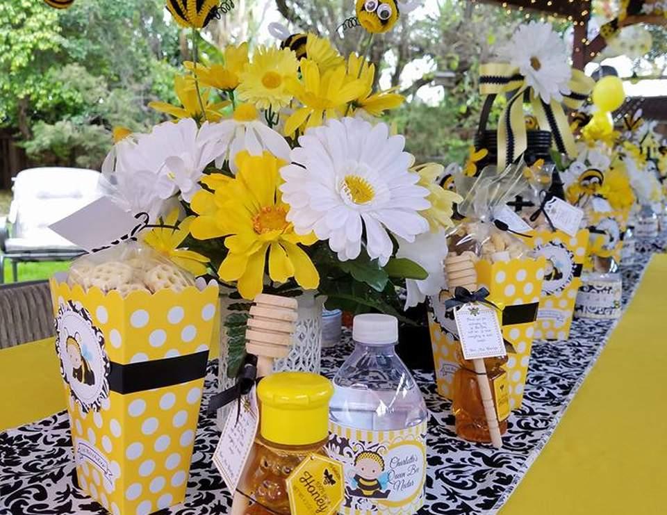 birthday bumble bee 1st birthday party