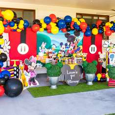 mickey mouse party ideas for a boy