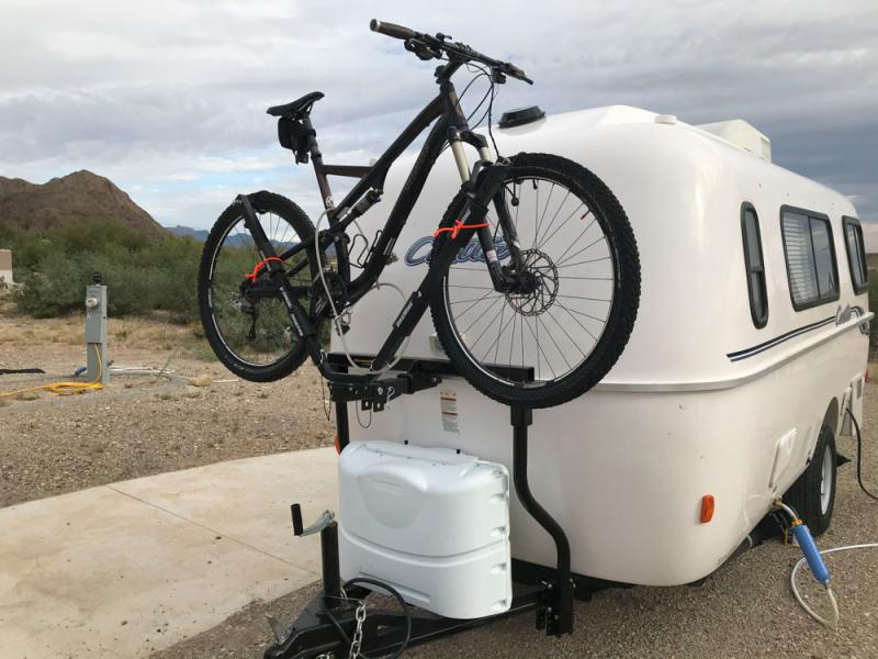 the bike bunk