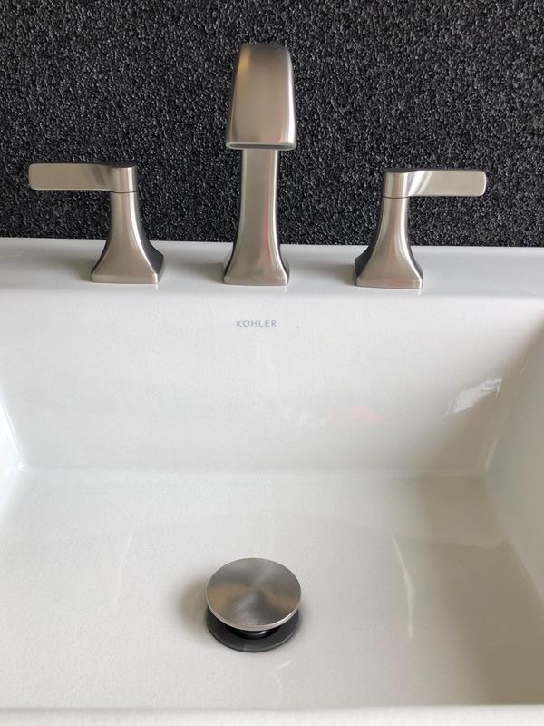 maxton widespread bathroom sink faucet