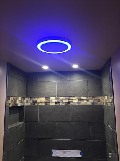 bluetooth speaker bathroom ceiling fan