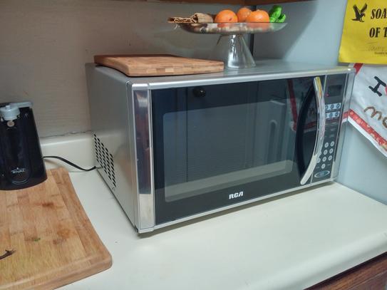 rca 1 1 cu ft countertop microwave