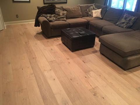 Malibu Wide Plank French Oak Baker 1 2 in  Thick x 7 1 2 in  Wide x     Customer Images  10