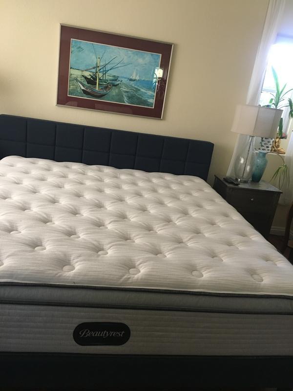 beautyrest br800 plush pillow top