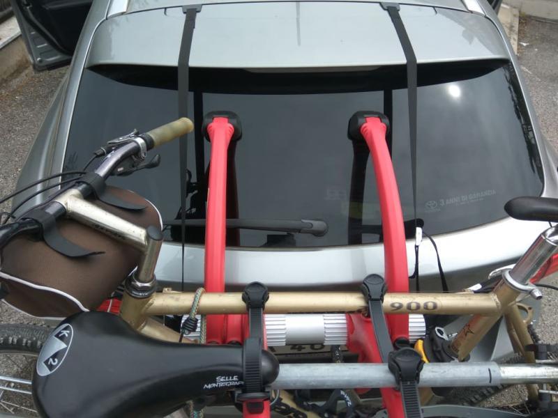 bones 3 bike trunk car rack saris