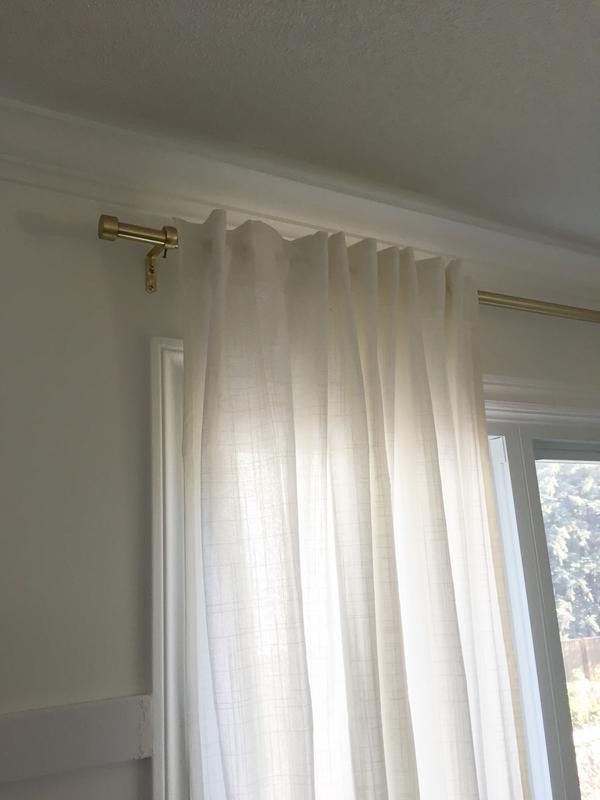 cappa single curtain rod shop