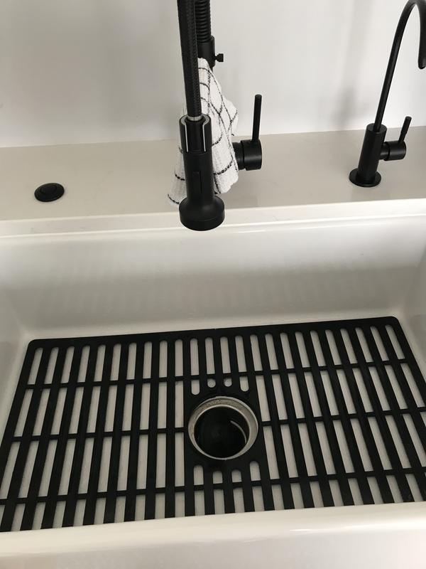 vigo gray silicone kitchen sink
