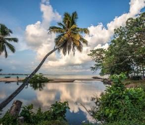 Lagune in Tangalle