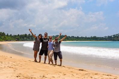 Mit Toni und Ruby am Tallala Beach