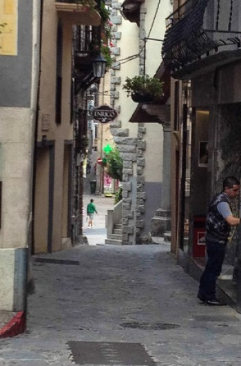 Be prepared to walk when visiting Andorra la Vella