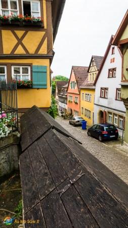 View down Spitalgasse street.
