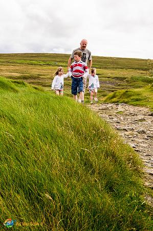 Walking Loop Head Ireland