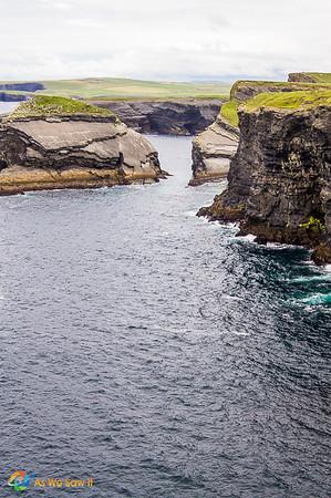 Irish cliffs at Loop Head