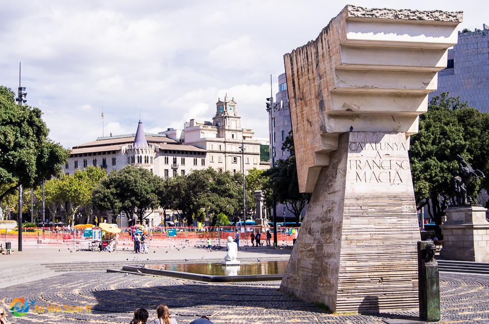Placa de Catalunya, Barcelona