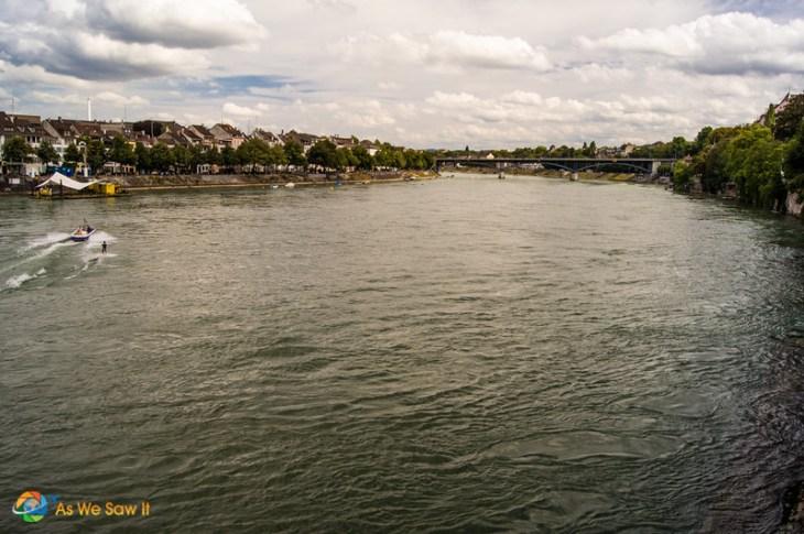 Rhine River cruises begin in Basel.