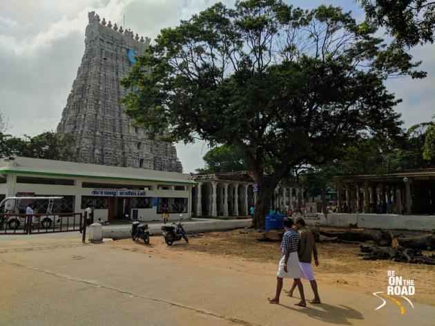 The main gopuram of Tiruchendur Murugan Temple