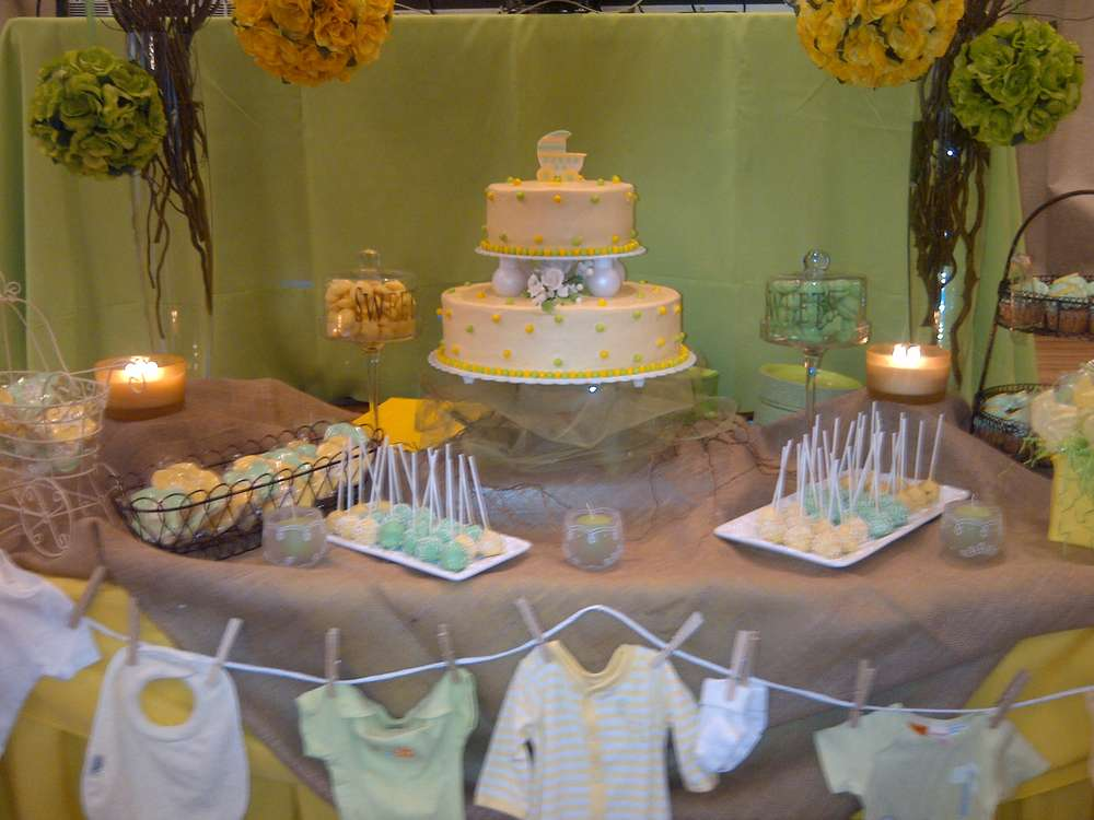Baby Ideas White Yellow And Shower