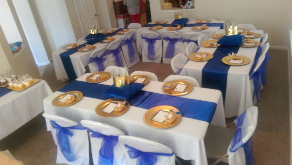 Royal Prince Baby Shower Party Ideas Photo 7 Of 39