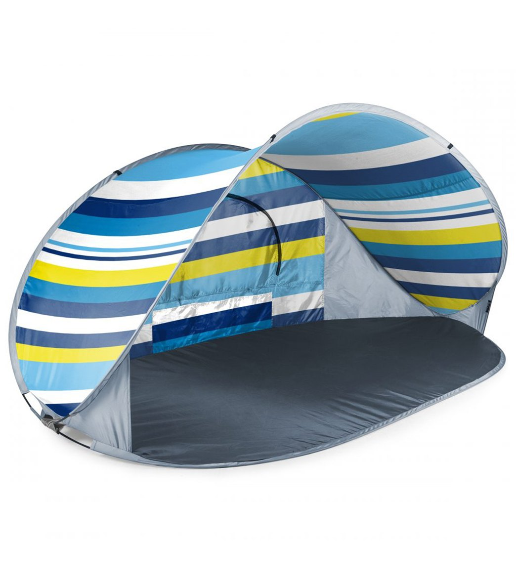 Picnic Time Manta Popup Sun Wind Shelter Beach Tent At