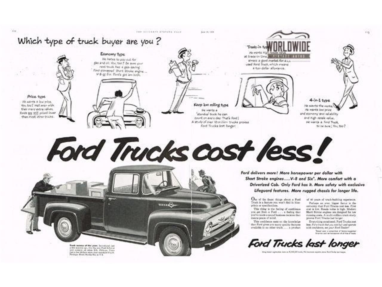Ford F100 Engine