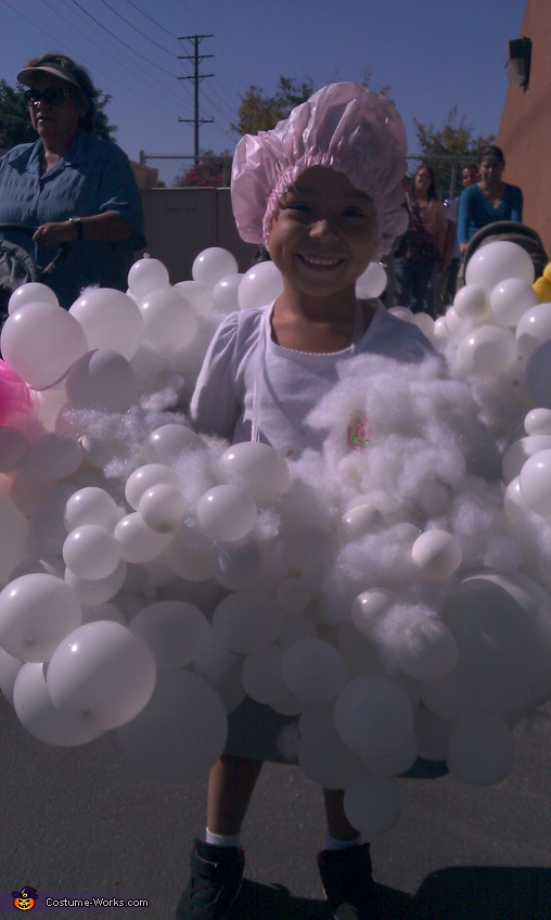 Homemade Bubble Bath Costume For Kids Photo 22