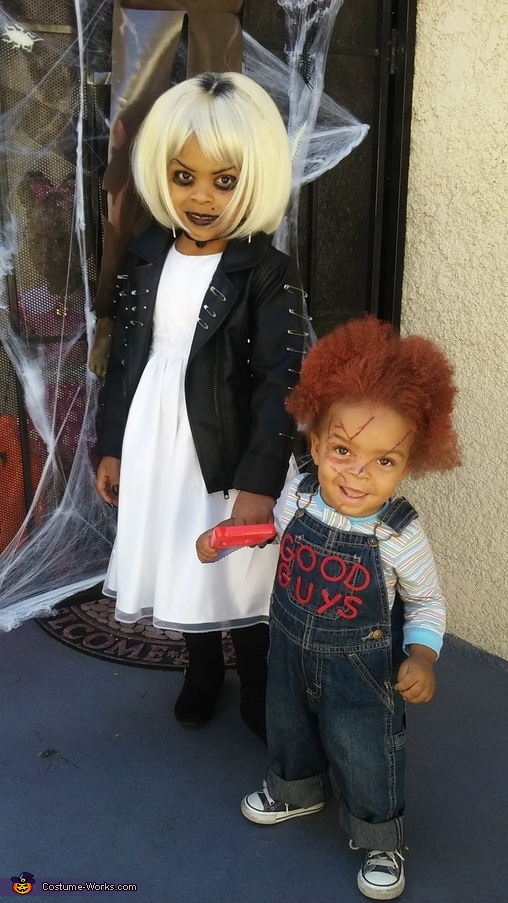 Chucky and the Bride of Chucky Costumes DIY