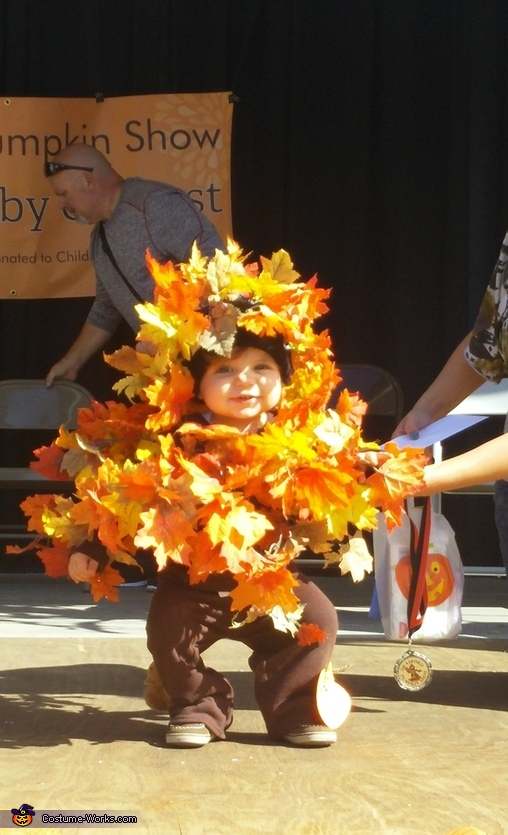 Fall Tree Baby Homemade Costume