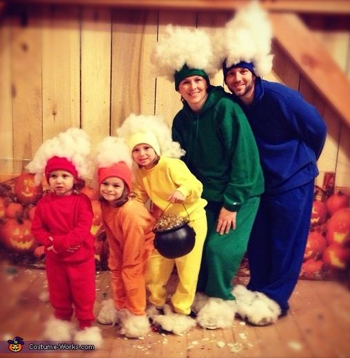 Rainbow Family Costume