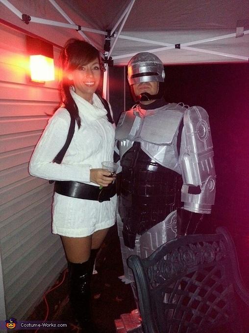 Costume Homemade Robocop