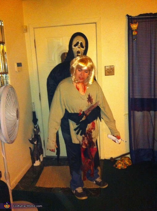 Scream Illusion Halloween Costume